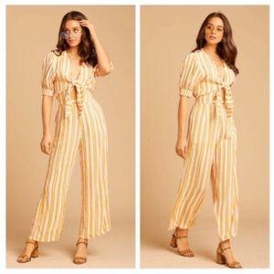 Faithfull the Brand • Matese Sun Stripe Jumpsuit
